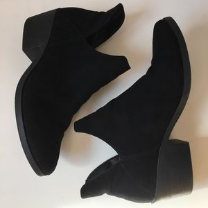 Suede Booties (faux)